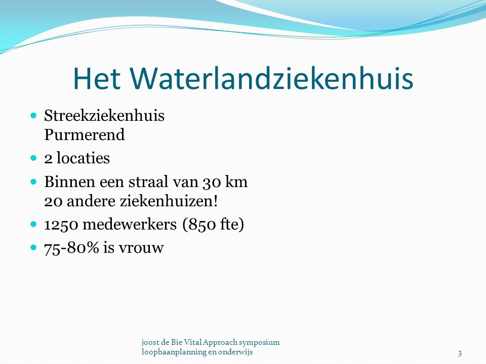 Het Waterlandziekenhuis