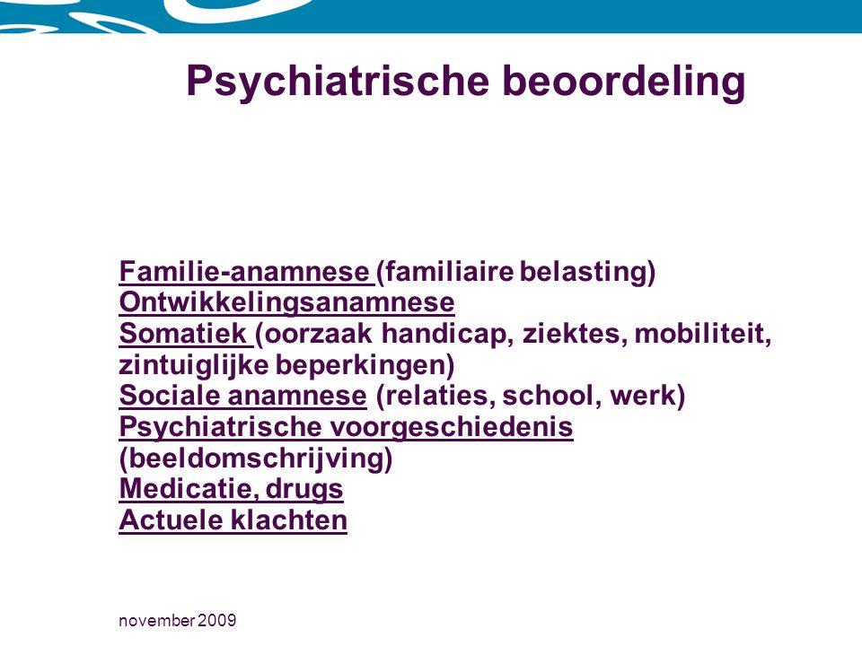 Psychiatrische beoordeling