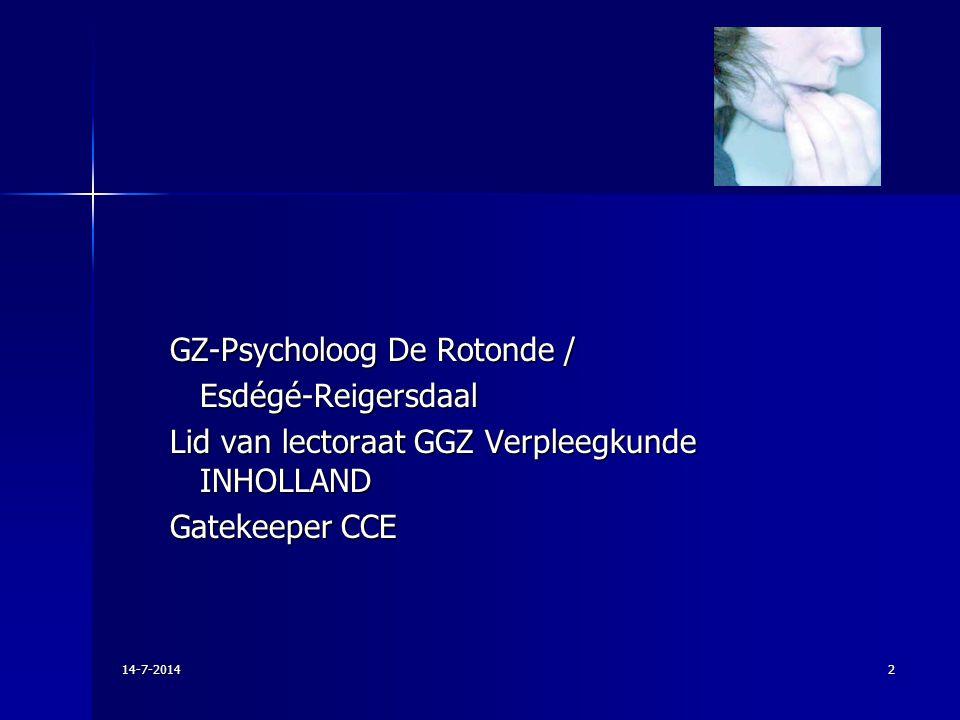 GZ-Psycholoog De Rotonde / Esdégé-Reigersdaal