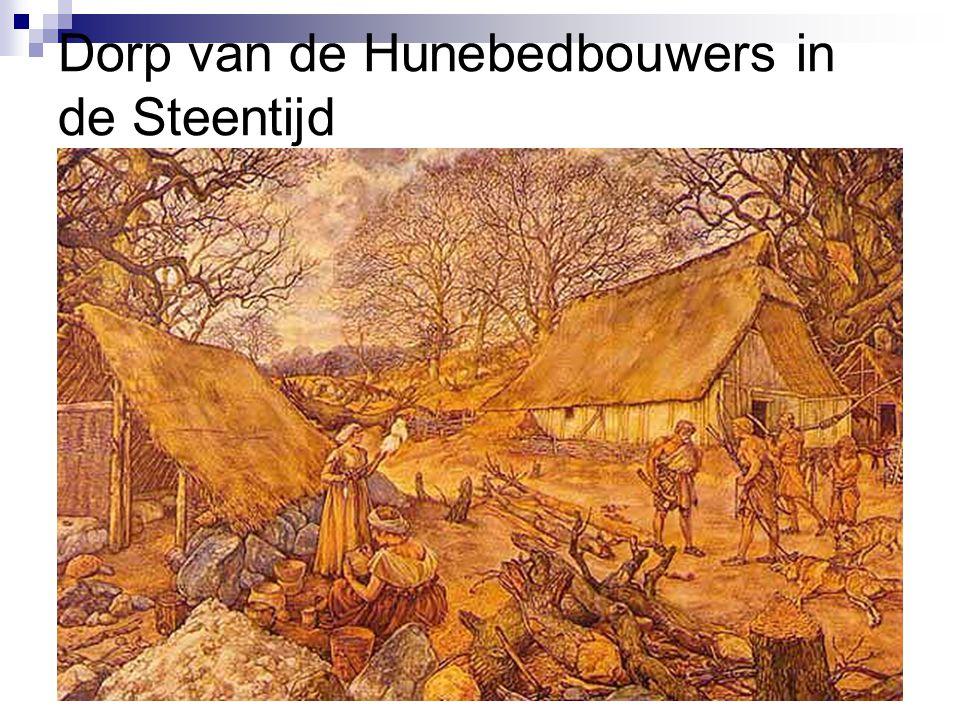 Dorp van de Hunebedbouwers in de Steentijd