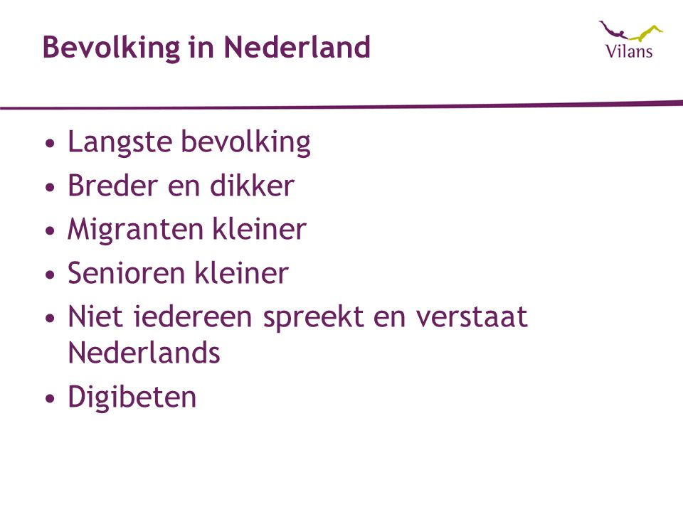 Bevolking in Nederland