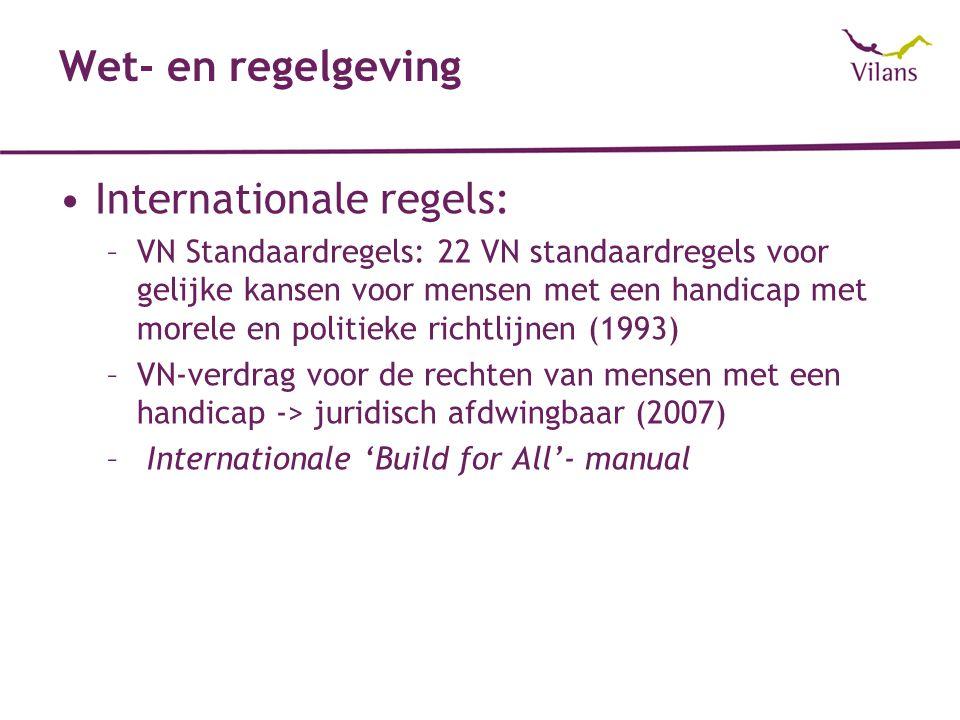 Internationale regels: