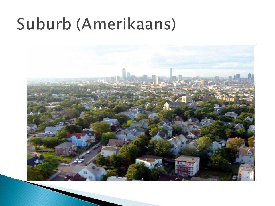 Suburb (Amerikaans)