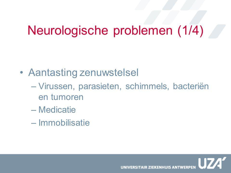 Neurologische problemen (1/4)