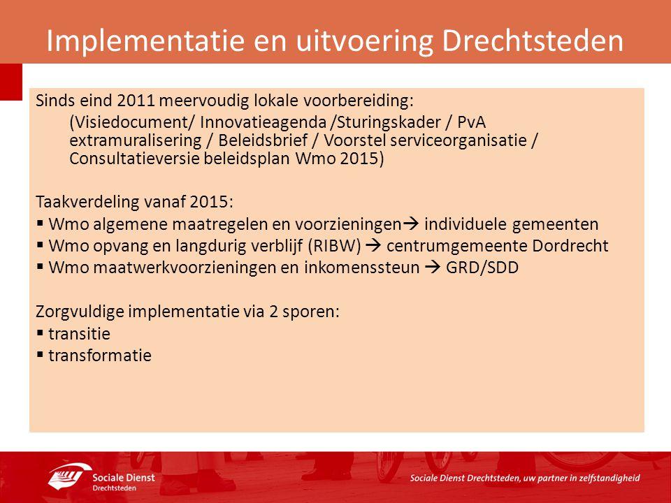 Implementatie en uitvoering Drechtsteden