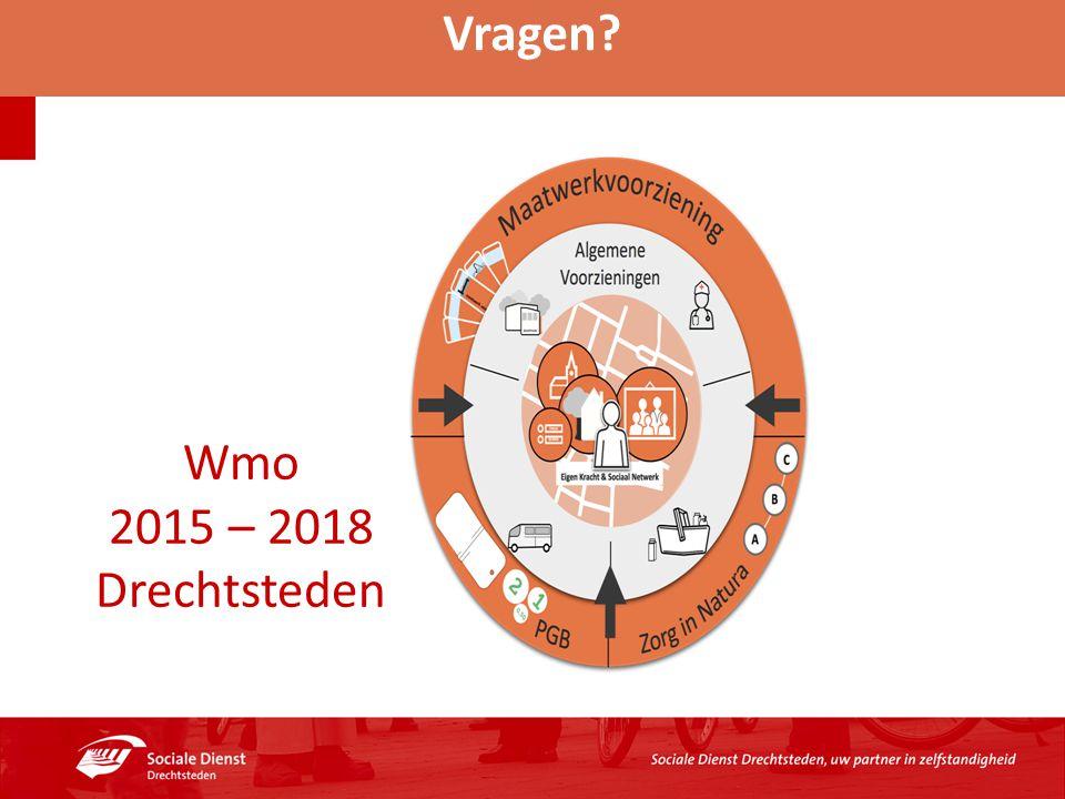 Vragen Wmo 2015 – 2018 Drechtsteden