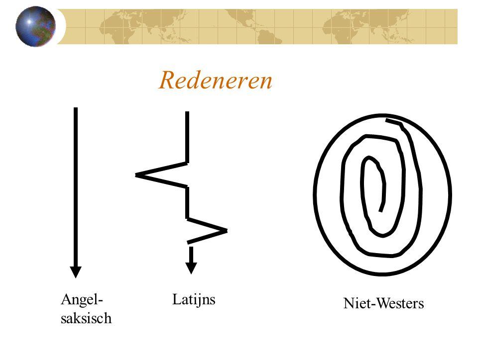 Redeneren Angel-saksisch Latijns Niet-Westers