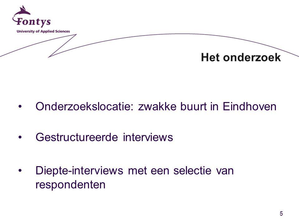 Onderzoekslocatie: zwakke buurt in Eindhoven