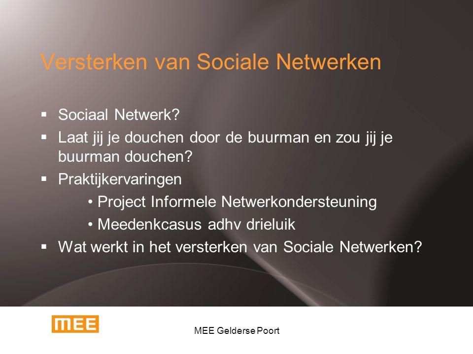 Versterken van Sociale Netwerken