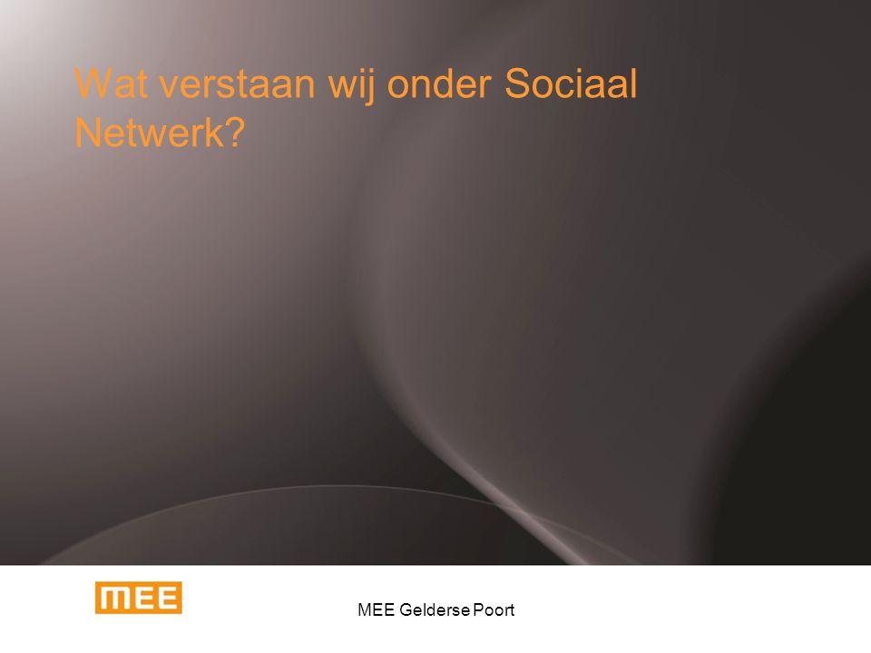 Wat verstaan wij onder Sociaal Netwerk