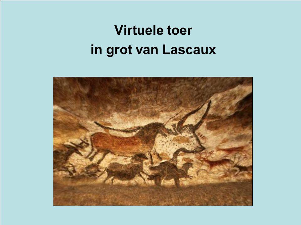 Virtuele toer in grot van Lascaux