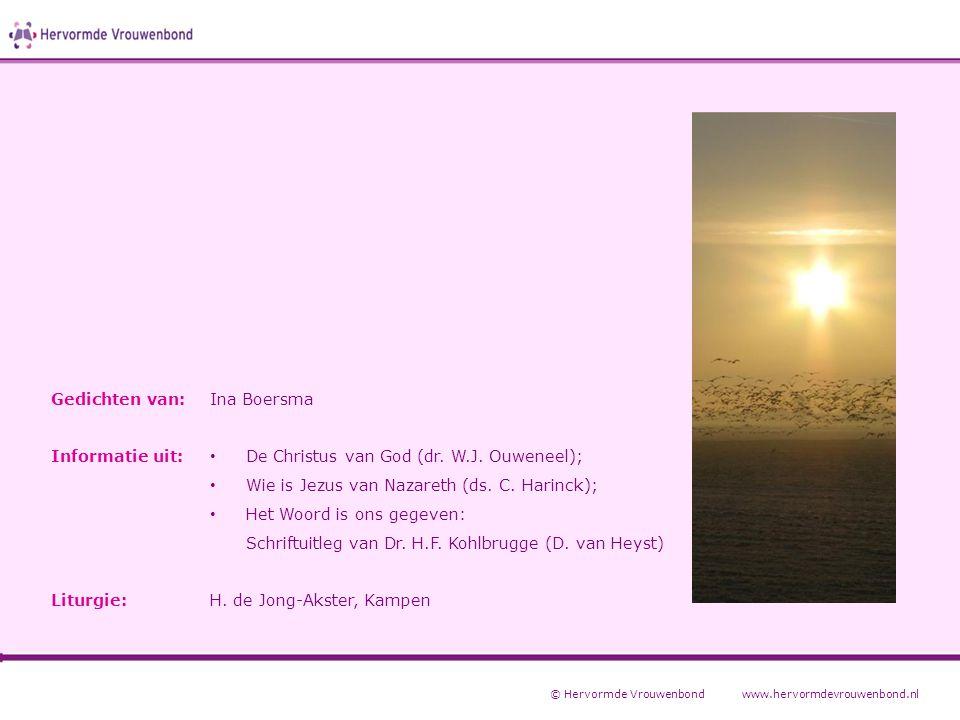 De Christus van God (dr. W.J. Ouweneel);