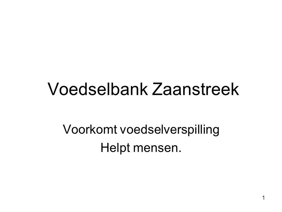 Voedselbank Zaanstreek