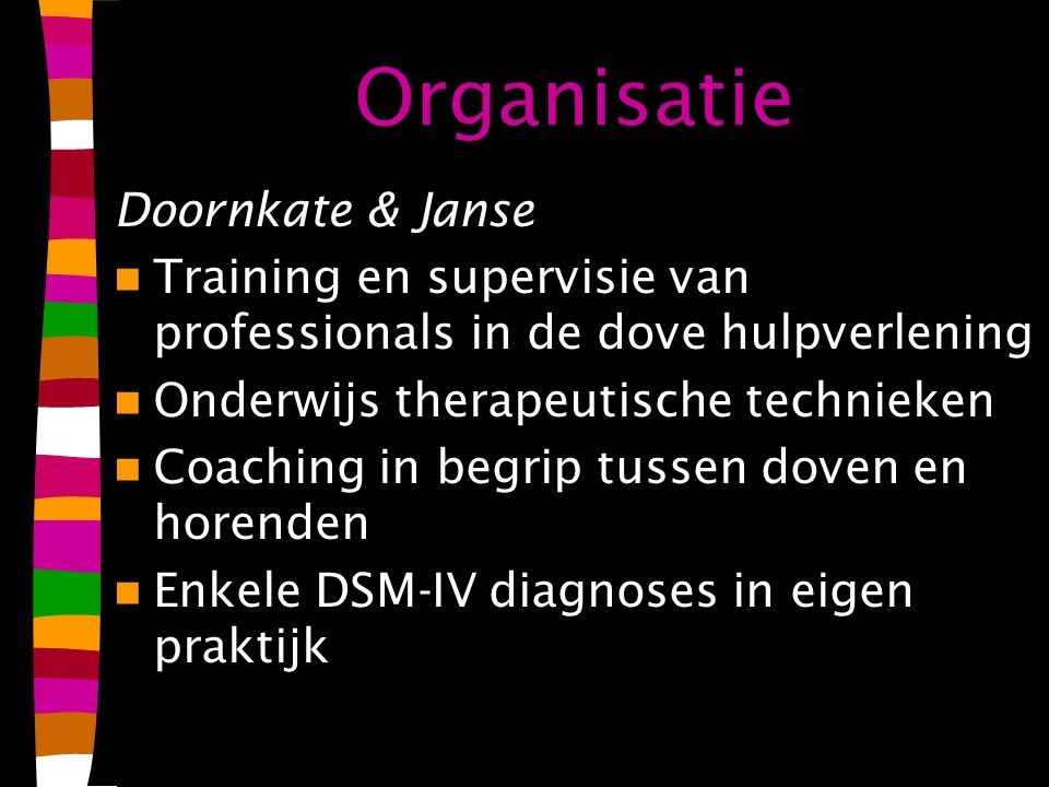 Organisatie Doornkate & Janse