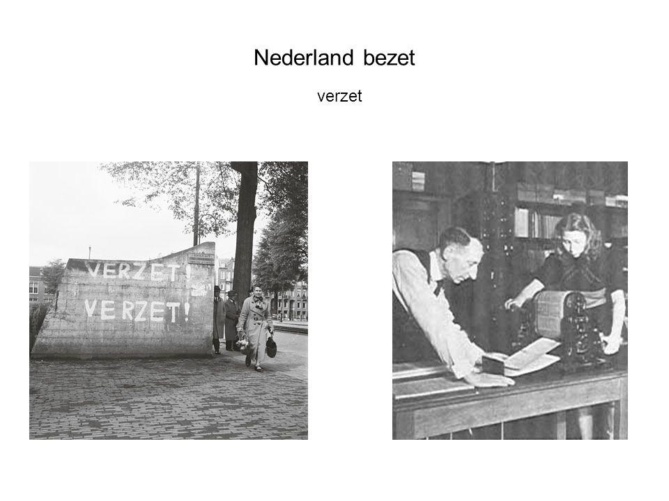 Nederland bezet verzet