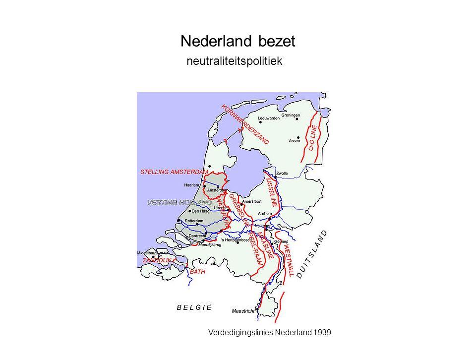 Verdedigingslinies Nederland 1939