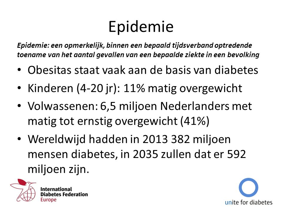 Epidemie Obesitas staat vaak aan de basis van diabetes