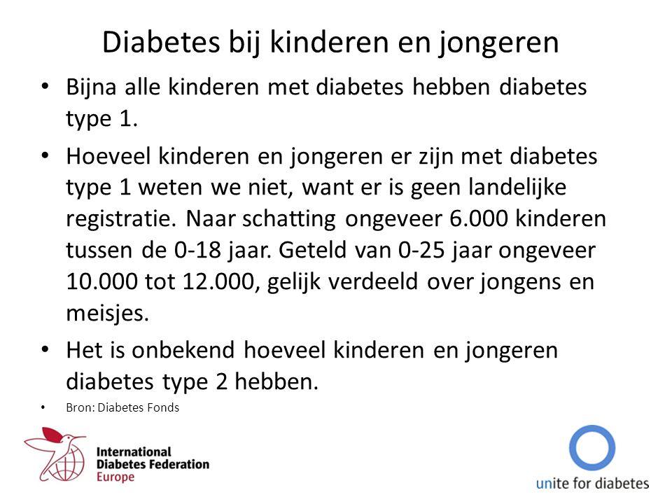 Diabetes bij kinderen en jongeren