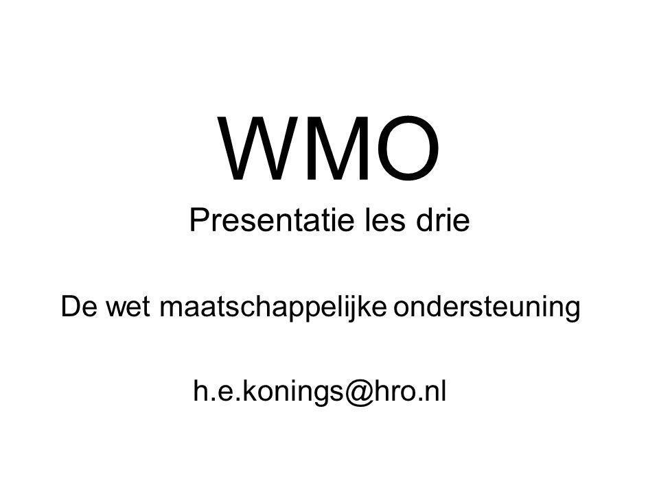 WMO Presentatie les drie
