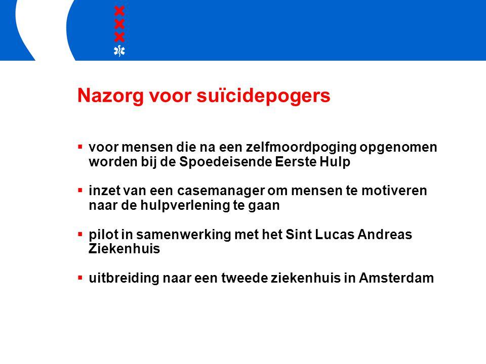 Nazorg voor suïcidepogers