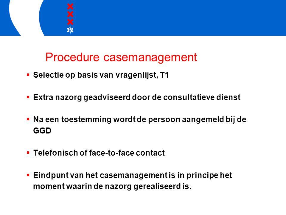 Procedure casemanagement