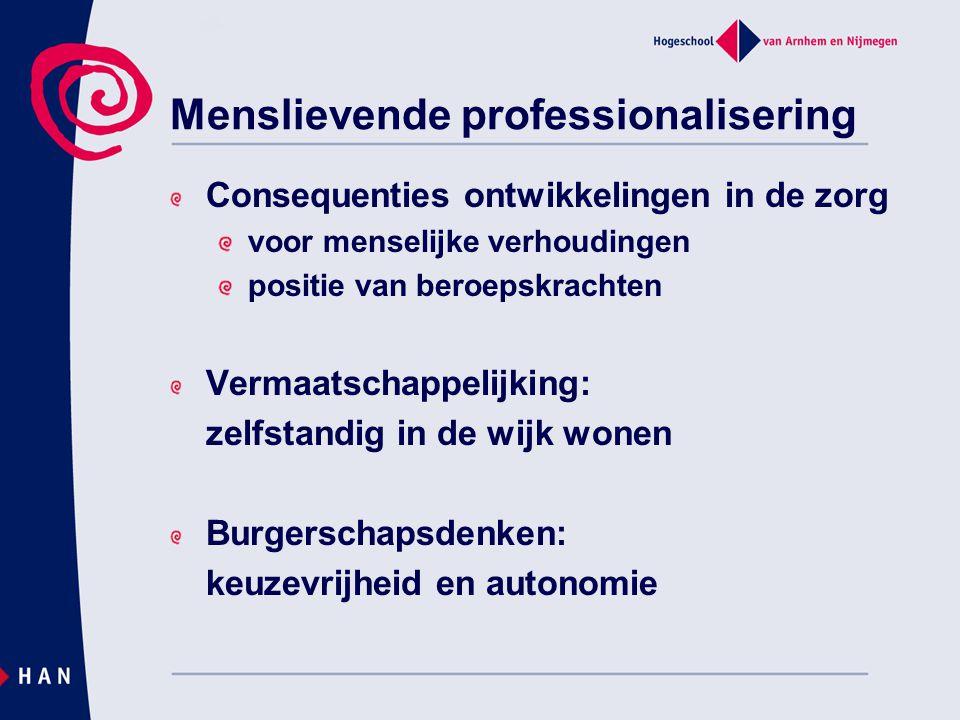 Menslievende professionalisering