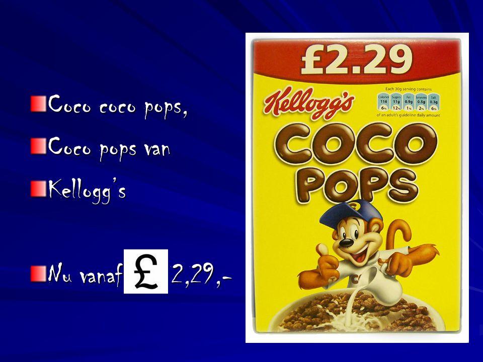 Coco coco pops, Coco pops van Kellogg's Nu vanaf 2,29,-