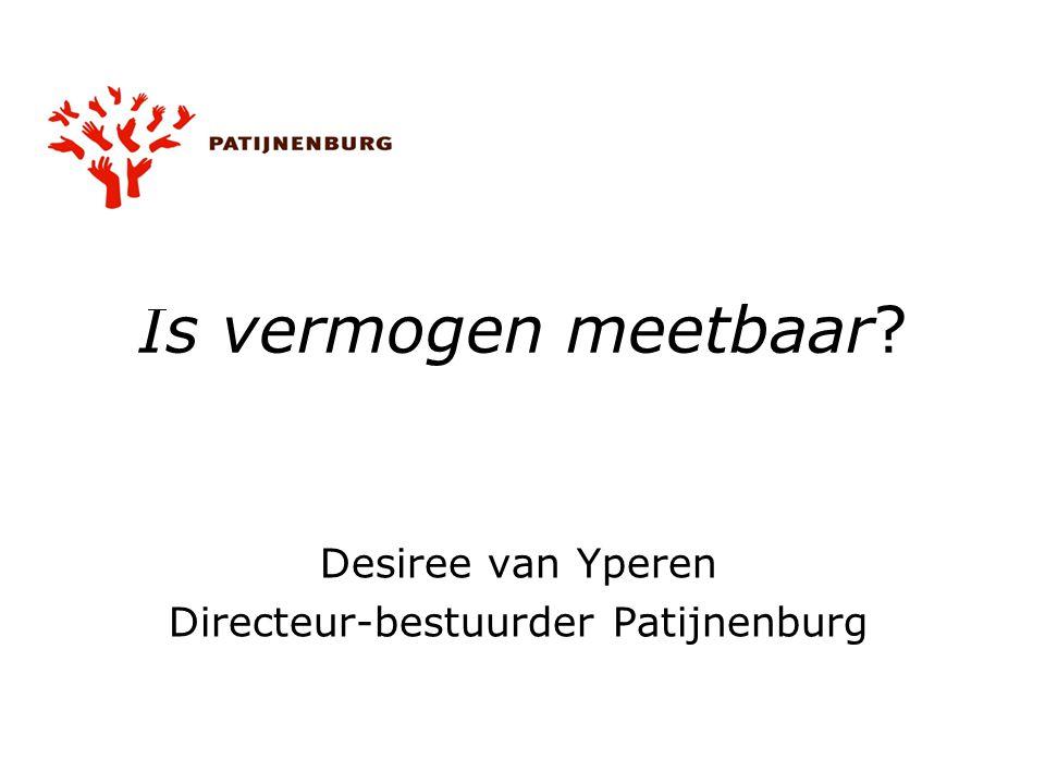 Desiree van Yperen Directeur-bestuurder Patijnenburg