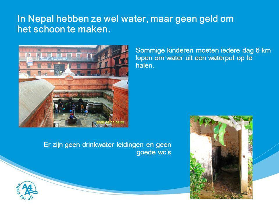 Waarvoor wordt dit water in Nepal allemaal gebruikt