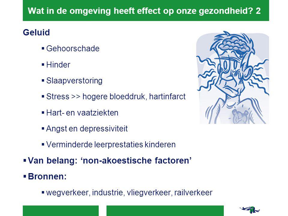 Wat in de omgeving heeft effect op onze gezondheid 2