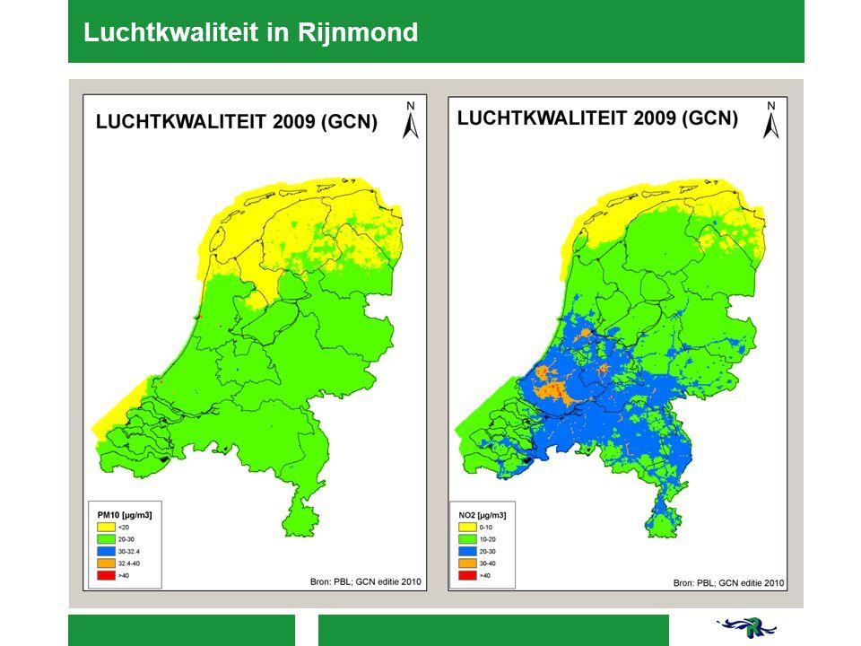 Luchtkwaliteit in Rijnmond