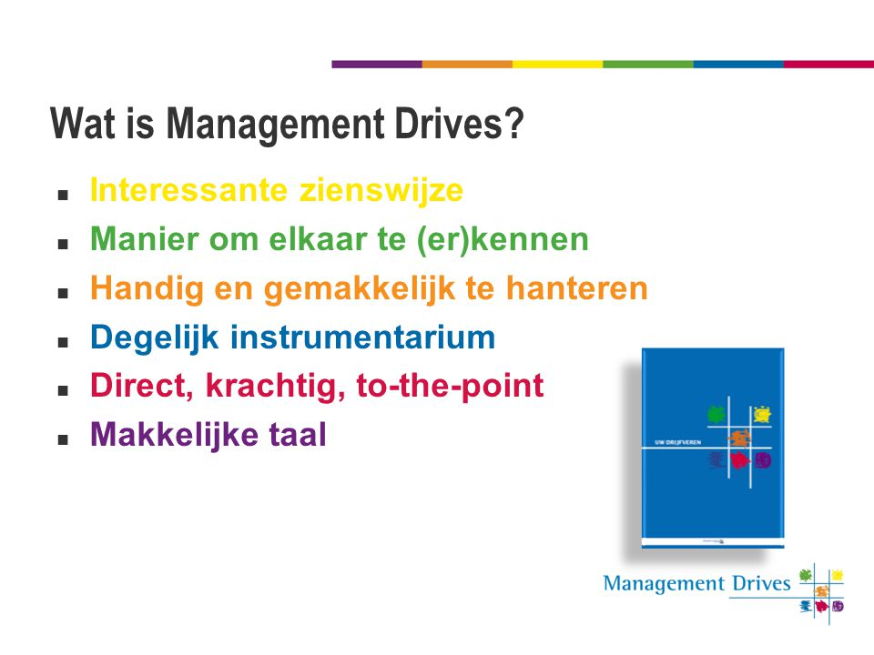 Wat is Management Drives