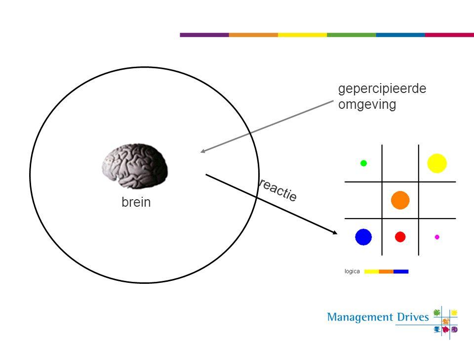 gepercipieerde omgeving reactie brein