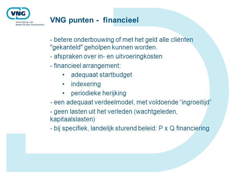 VNG punten - financieel