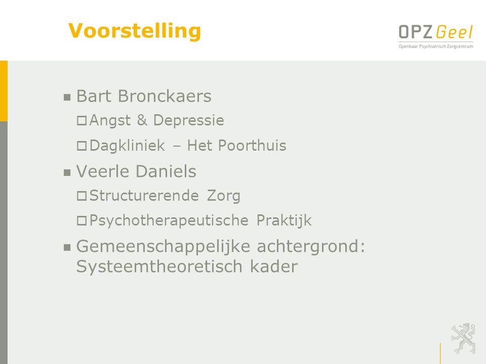 Voorstelling Bart Bronckaers Veerle Daniels
