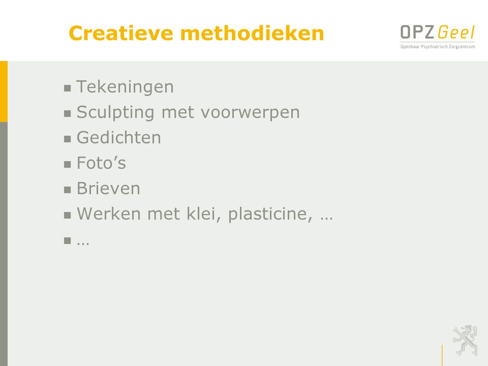 Creatieve methodieken