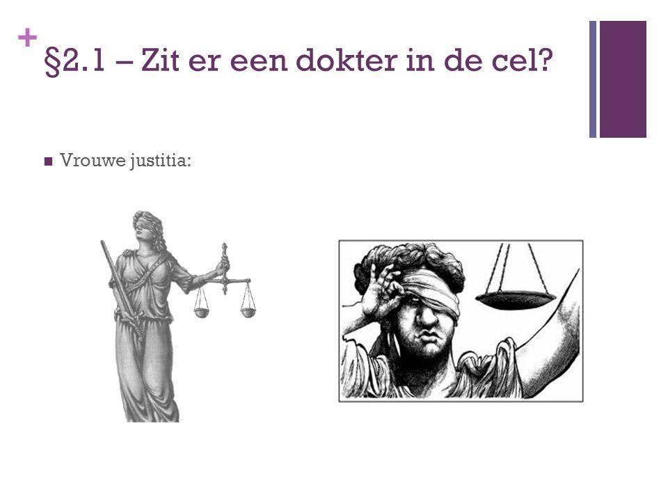 §2.1 – Zit er een dokter in de cel