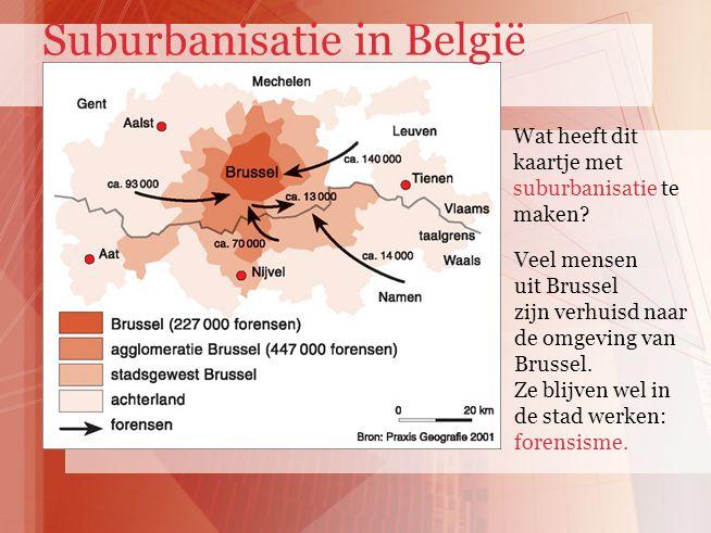 Suburbanisatie in België