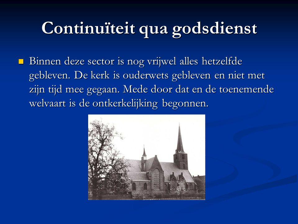 Continuïteit qua godsdienst