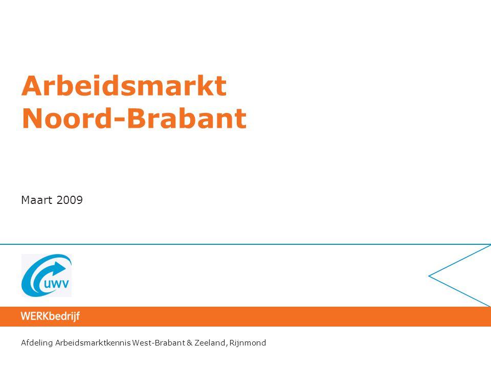 Arbeidsmarkt Noord-Brabant
