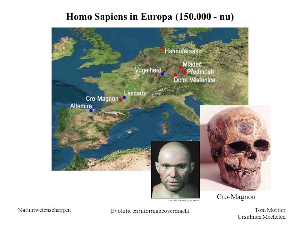 Homo Sapiens in Europa (150.000 - nu)