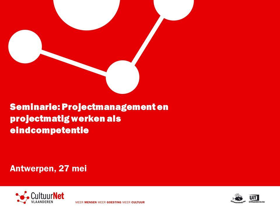 Seminarie: Projectmanagement en projectmatig werken als eindcompetentie
