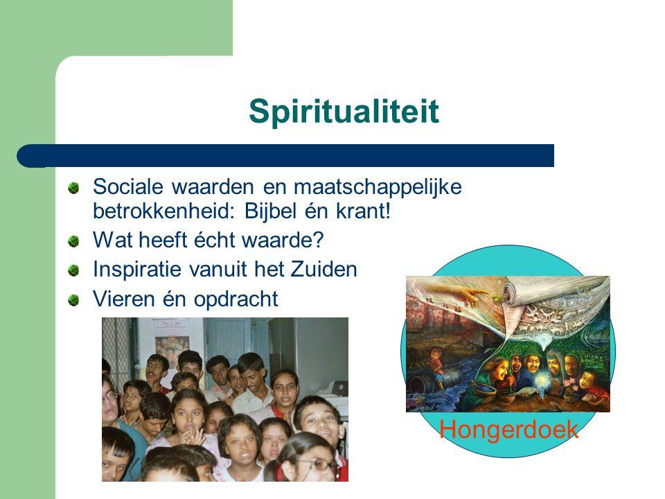 Spiritualiteit Hongerdoek