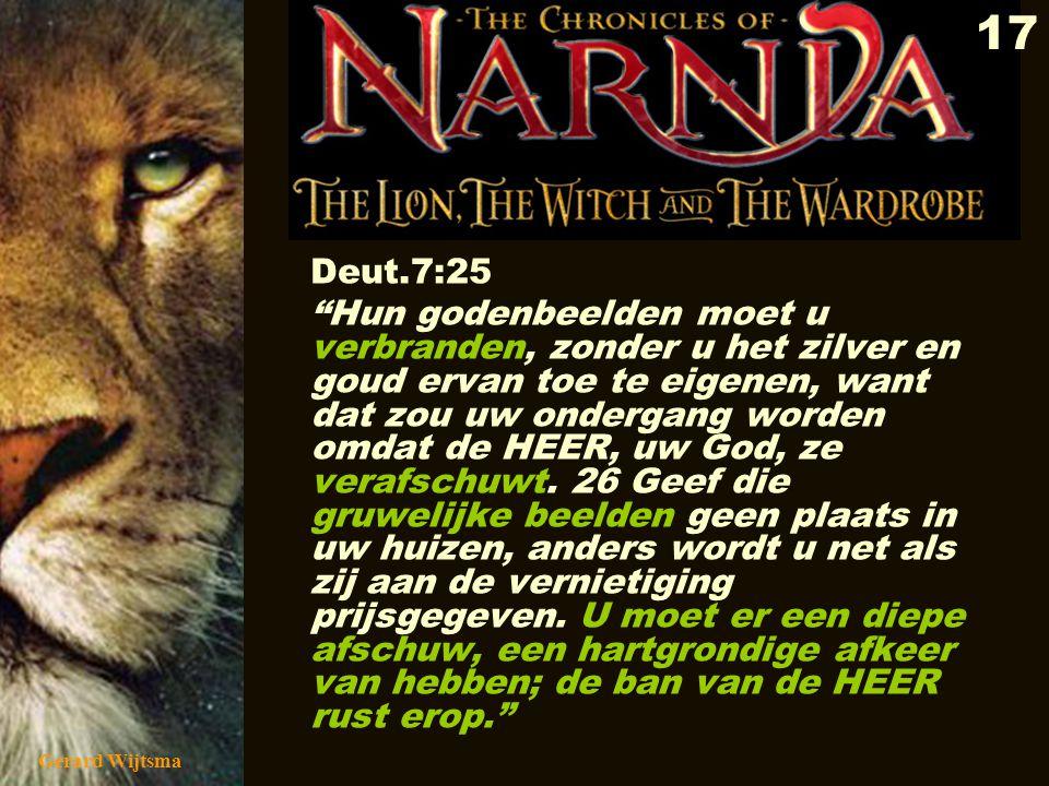 Deut.7:25