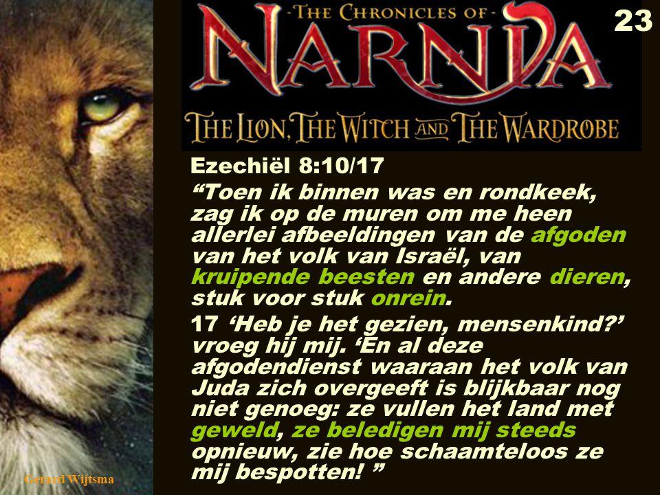 Ezechiël 8:10/17