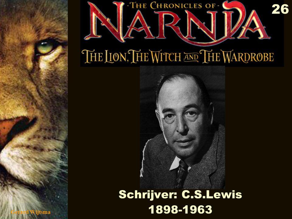 Schrijver: C.S.Lewis 1898-1963 Gerard Wijtsma