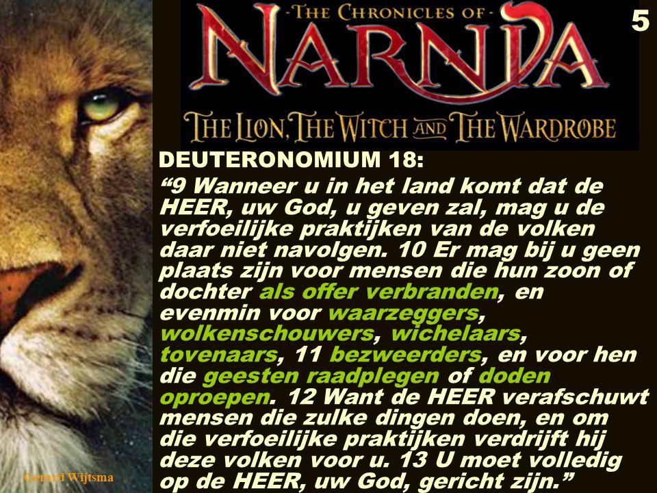 DEUTERONOMIUM 18: