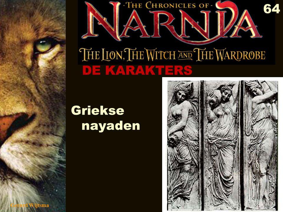 DE KARAKTERS Griekse nayaden Gerard Wijtsma