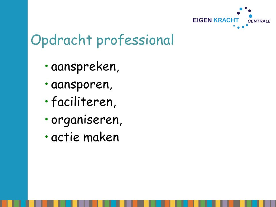 Opdracht professional