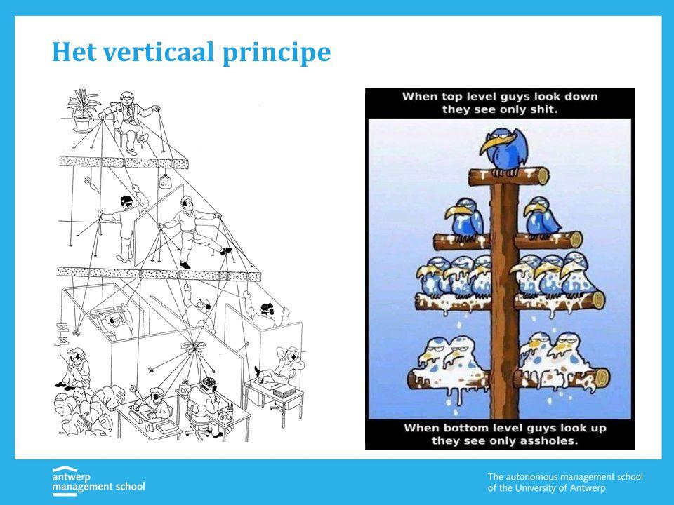Het verticaal principe